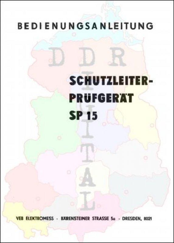 Schutzleiterprüfgerät SP 15