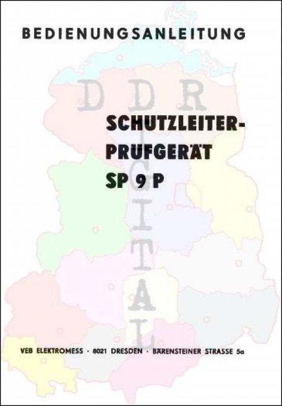 Schutzleiterprüfgerät SP 9 P