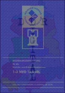 Stationär- und Einbau- Dieselmotoren 1-3 NVD 12,5 SRL
