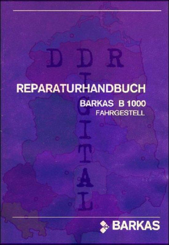 BARKAS B 1000 Fahrgestell
