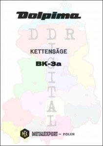 Dolpima Kettensäge BK-3a