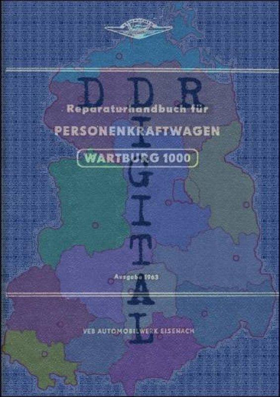 Personenkraftwagen Wartburg 1000