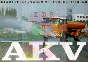 Stadtsprengwagen mit Fernbedienung AKV
