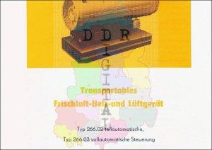 Transportables Frischluft-Heiz- und Lüftergerät Typ 266.02, Typ 266.03