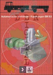 Automatische Anhänger-Kupplungen BK 63
