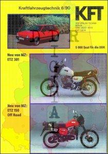 Kraftfahrzeugtechnik 6/90 - KFT -