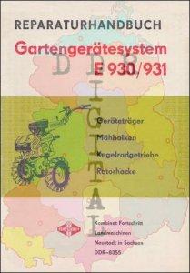 Gartengerätesystem E 930 / 931