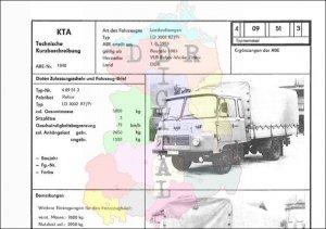 Lastkraftwagen LD 3002 KF/Pr