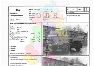Lastkraftwagen L 60 1218 4x4 DSK