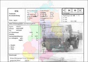 Lastkraftwagen MAS 5549