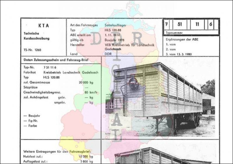 Sattelauflieger HLS 120.88