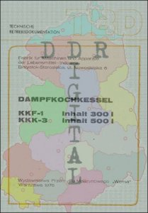 Dampfkochkessel KKF-1, KKK-3