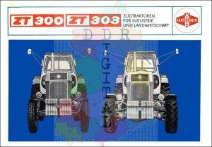 ZT 300, ZT 303, Zugtraktoren für Industrie und Landwirtschaft