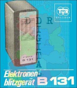 Elektronenblitzgerät B13