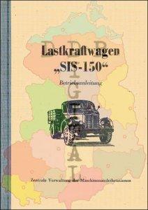 Betriebsanleitung Lastkraftwagen ZIS-150