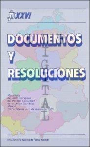 Documentos y resoluciones