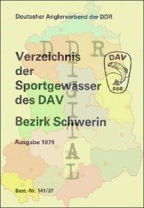 Verzeichnis der Sportgewässer des DAV Bezirk Schwerin