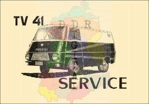 Serviceheft TV 41