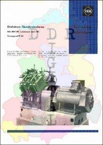 Drehstrom-Standardmotoren 160-400 kW, Leistungen nach IEC, Schutzgrad IP 23