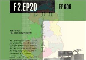 Elektrofahrersitzwagen FS.EP20 (EP 006)