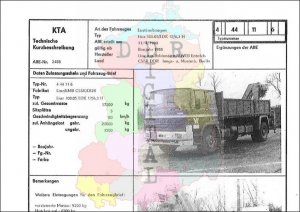 Lastkraftwagen LIAZ 100.05/LDK 12/6,3 H
