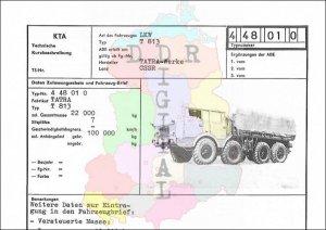 Lastkraftwagen T 813