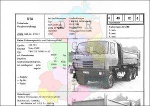 Lastkraftwagen T 815 S 3 26208 6 x 6.2