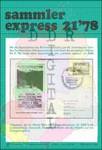 sammler express 21/78