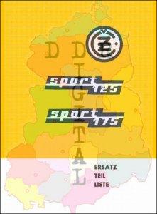 Ersatzteilliste sport 125, sport 175