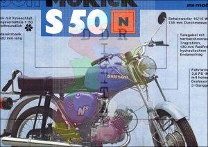 simson Mokick S 50 N