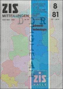 ZIS Mitteilungen 8/81