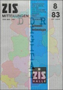 ZIS Mitteilungen 8/83