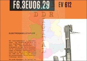 Elektrogabelstapler F6.3EU06.29 EV 612