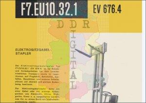 Elektrositzgabelstapler F7.EU10.32.1 EV 676.4