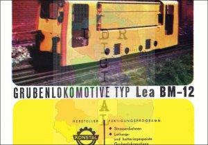 Grubenlokomotive Typ Lea BM-12