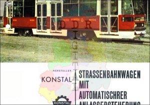 Strassenbahnwagen mit automatischer Anlassersteuerung Bauart 105 N