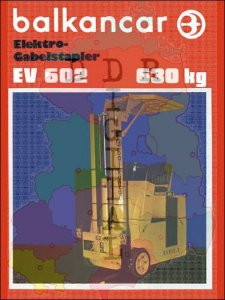 Elektro-Gabelstplaer EV 602
