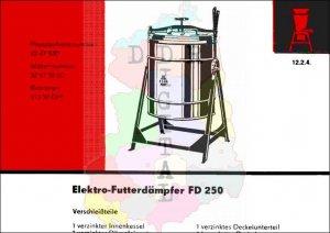 Elektro-Futterdämpfer FD 250