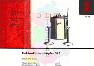 Elektro-Futterdämpfer 340