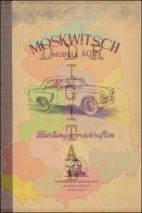 Kraftwagen Moskwitsch Modell 402