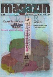 magazin für Haus und Wohnung 6/83