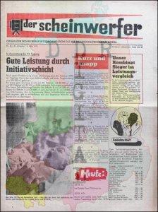 Der Scheinwerfer Nr. 10/26. Jahrgang
